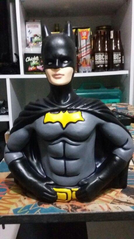Alcancia batman en cuentatala a la venta en facebook.com/visioncc #visionscc #la _cerecienta #batman