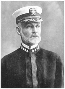 William Sowden Sims (October 15, 1858 – September 25, 1936) was an admiral in the United States Navy who sought during the late 19th and early 20th centuries to modernize the Navy. During World War I he commanded all United States naval forces operating in Europe. He also served twice as president of the Naval War College.