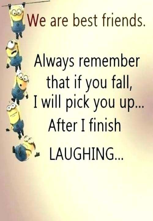 Short Friendship Quotes Friendship Quotes In English Short Friendship Quotes Friends Quotes Funny Minion Quotes
