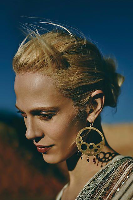 Bubbled Briolette Earrings