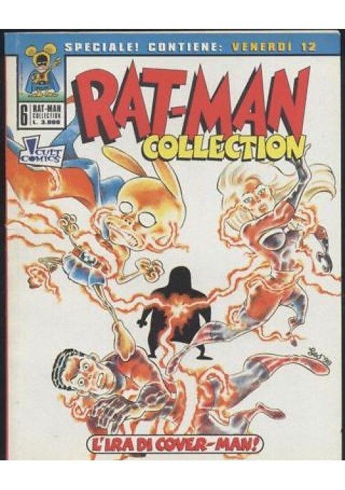 Rat Man Collection N 6 L Ira Di Cover Man 14 Maggio 1998 Prima Edizione Fumetti Copertina Culto