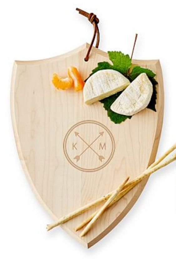Shield Cheese Board