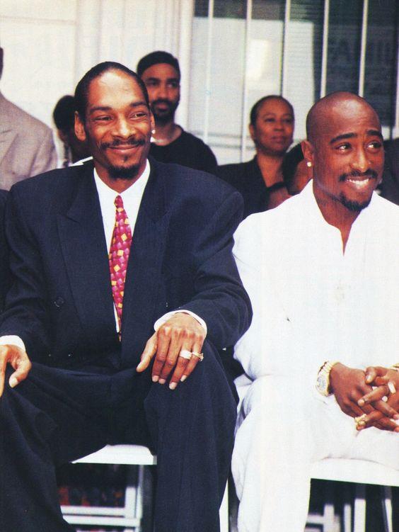 Snoop Dogg and Tupac: