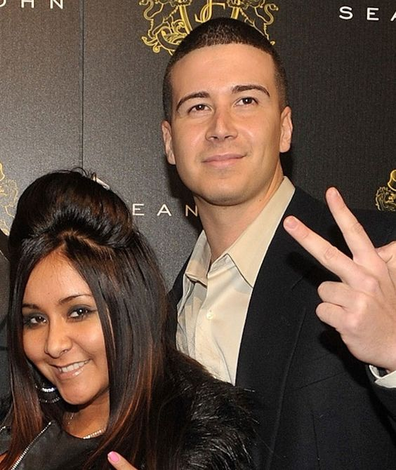 "Vinny Guadagnino and Nicole ""Snooki"" Polizzi August 14"