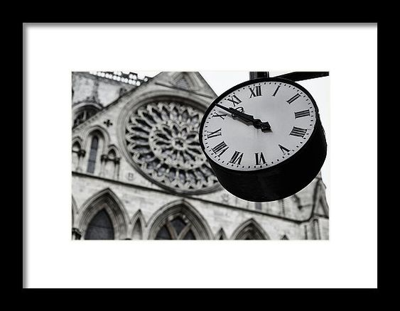 A Clock In Front Of The York Minster Registers 10 51 Am Shot On 19 May 2013 Monochrome High Contrast Image Shot In 2020 Minster Stretch Canvas