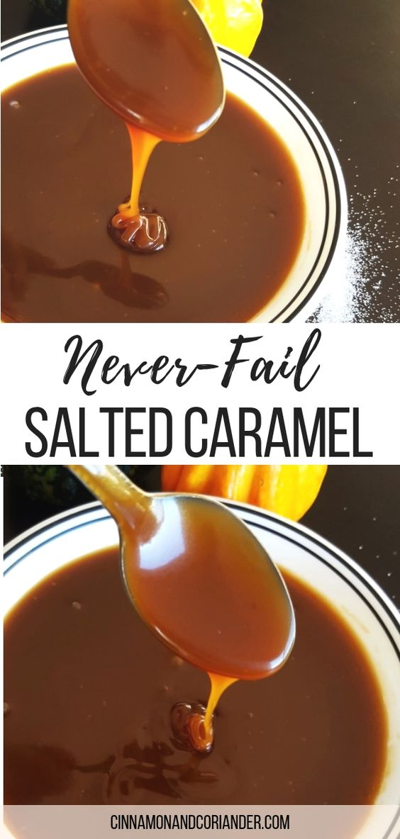 Never-fail Salted Caramel Sauce