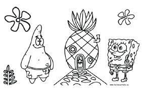Resultado De Imagen De Dibujos Bob Esponja Para Colorear E