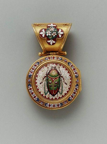 micro mosaics pendant