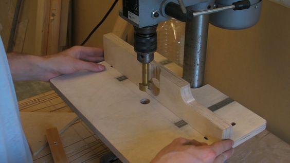 Drill Press Table / Pillar Drill Guide