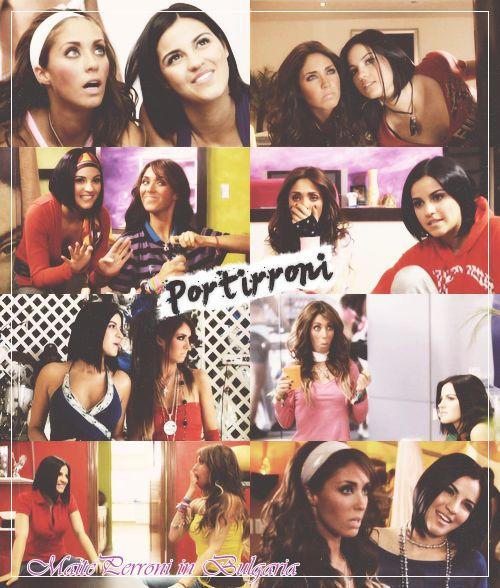 En RBD la familia :D Portirroni (Anahi & Maite Perroni)