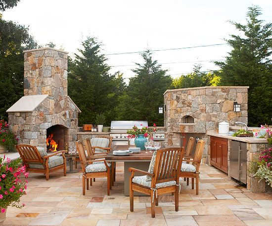 15 Patio Design Tips Pizza The shorts and Fireplaces