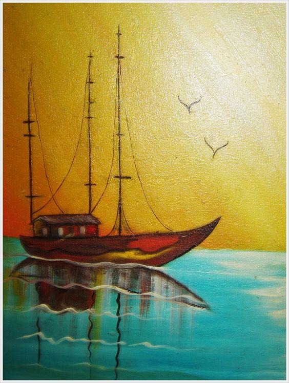 Barcos em céu transverso, 2002?