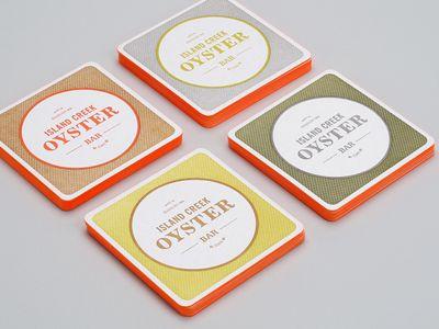 island creek oyster bar branding by Jennifer Lucey-Brzoza