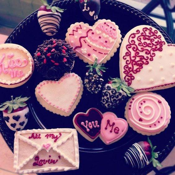 Valentines cookies by TUC Teresa Miller