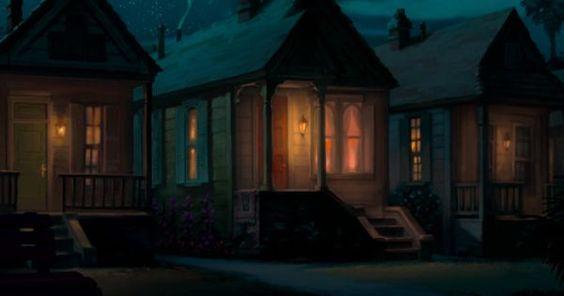 Tiana's shotgun cottage