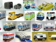 Lots of Papercraft Trains and Wagons for Kids Free Templates Download