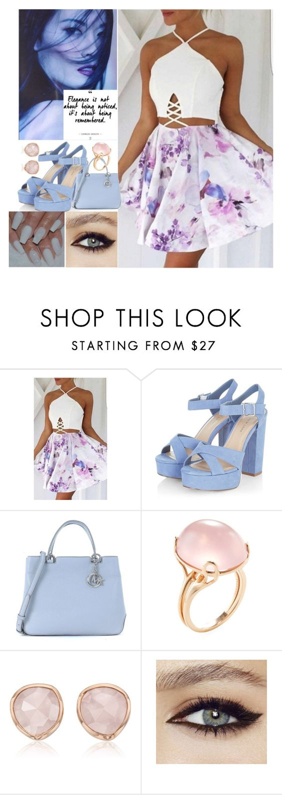 """summer time fashion"" by codygirl on Polyvore featuring Michael Kors, Goshwara and Monica Vinader"