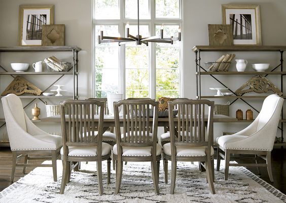 Great Rooms - Berkeley 9 Piece Dining Set by Universal