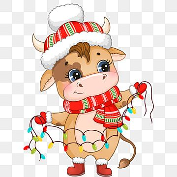 Cartoon Christmas Cow With Lantern Animal Clipart Lantern Kawaii Png Transparent Clipart Image And Psd File For Free Download Christmas Cartoons Christmas Wallpaper Backgrounds Christmas Background