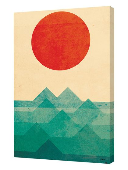 The Sun The Sea The Wave by Budi Satria Kwan (Canvas) by Curioos at Gilt