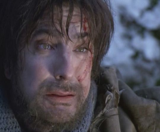 "1996 - Alan Rickman as Rasputin in ""Rasputin: Dark Servant of Destiny."":"