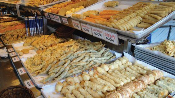 Những món ăn hấp dẫn tại chợ Gongdeok