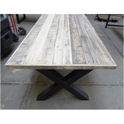 Tafelblad grenen sloophout planken 21,8 m vanaf €250