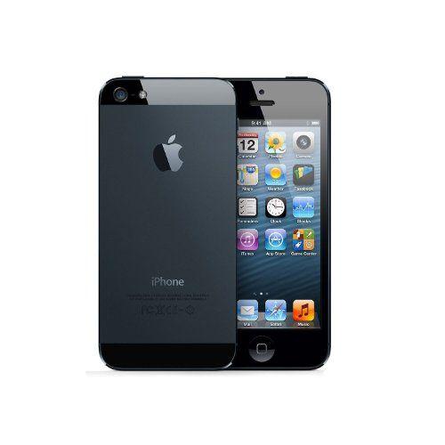 Apple iPhone 5 SIM FREE UNLOCKED – Black (16GB, BLACK)