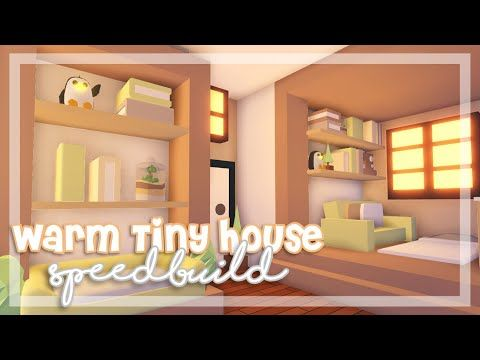 Warm Tiny House Speedbuild Tiny House Build Off Ft Theminnie Plays Roblox Adop Small House Storage House Decorating Ideas Apartments Unique House Design