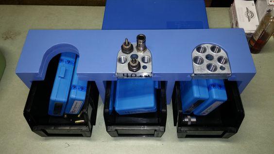 DIY Dillon XL650 Toolhead storage rack