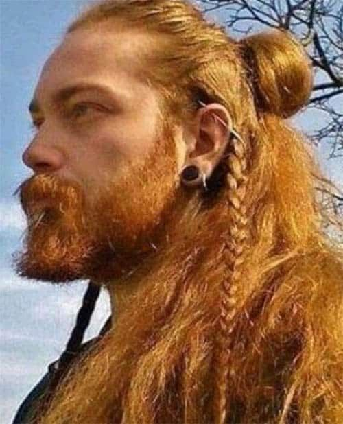 40 Coolest Viking Hairstyles Most Sought Trendy Haircut For Men Viking Hair Hair Styles Mens Hairstyles