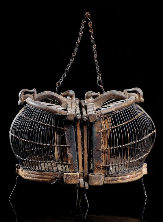 Ancient Double Bird Cage From Lombok Indonesia | Est. 700$