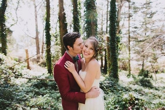 How This Couple Turned An Airbnb Into Their Dream Wedding Venue #refinery29  http://www.refinery29.com/green-wedding-shoes/8#slide-5  Floral design, hairpieces, and jewelry: Lorena Cortez of Home Sweet Flowers.Related: Inspiration For A Gorgeous 1970's Themed Bohemian Wedding...