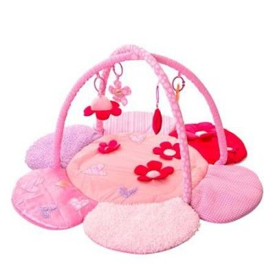 The Red Kite Petal Playgym is a padded play mat with luxury textures. The cute and pretty pink play mat for sweetie pies!      FEATURES:-            -Suitable from birth          -Pretty pink flower mat          -Variety of textured fabrics for tactile stimulation  -Includes hidden squeakers and crinkle fabrics for play time            RRP: £19.99  Our Price: £18.99  Available here: http://www.mykiddistore.com/red-kite-petal-playgym-the-cute-and-pretty-pink-play-mat-for-sweetie-pies/
