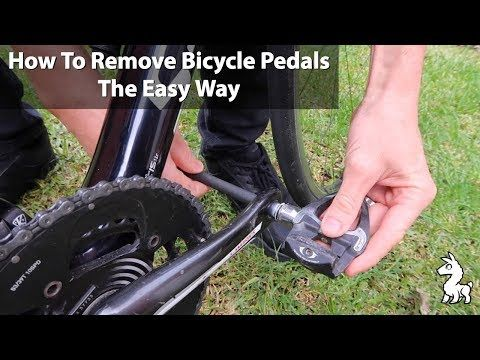 How To Remove Bicycle Pedals The Easy Way Youtube Bicycle