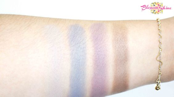 Contoh Warna Colour Box Mono Eyeshadow tanpa primer