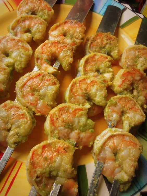 avocado salsa and more grilled shrimp avocado skewers shrimp tostadas ...