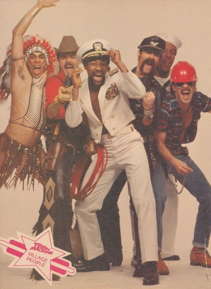 The Village People - YMCA is STILL one of my favorite songs - there's no better song to get a party started....well, except, maybe, Does Your Mother Know, by ABBA!