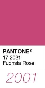 pantone color of the year 2001 fuchsia rose 17 2031 in 2020 pink shades cool grey 4c 377