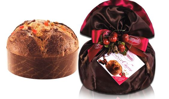 Panettone Ciocco Cherry // #singapore #christmas #italy #xmas #delicious #gift #confectionery #traditional #authentic #artisan