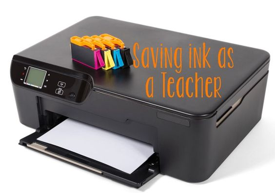 Learn how to save ink, by printing times multiple to a page.