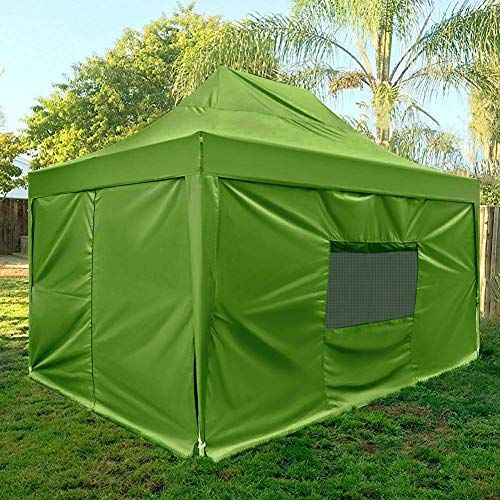 Great For Quictent Upgraded 10x15 Ez Pop Up Canopy Tent Outdoor Party Tent With Sidewalls Mesh Windows And Roller Bag Wat With Images Canopy Tent Outdoor Canopy Tent Tent