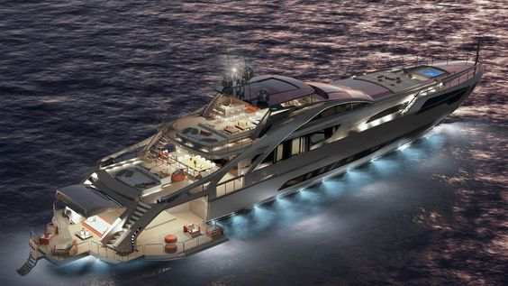 5 Amazing and Luxury Superyachts You Can't Afford! #1