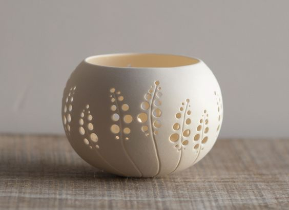 Porcelain Tea Light Delight