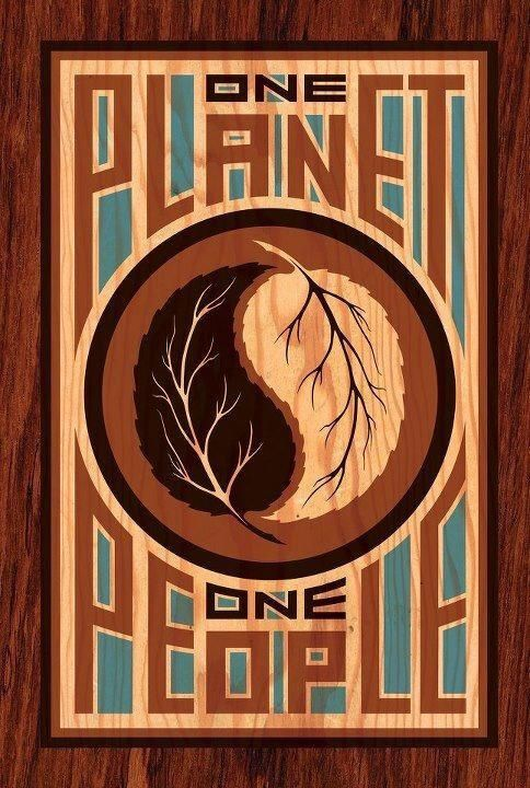 one planet. one people.