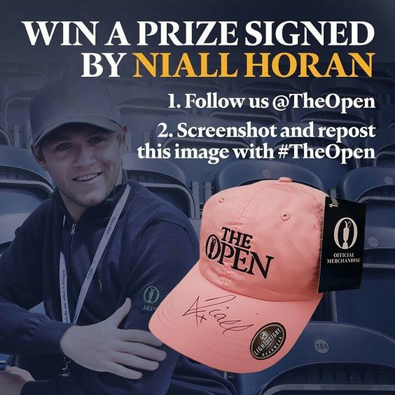 Win a baseball cap signed by Niall himself!