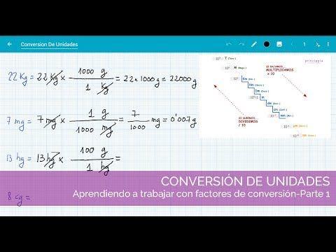 Ejercicios Resueltos De Factores De Conversión 2º Eso Vídeo 1 Youtube Ejercicios Resueltos Factores Unidad Didactica