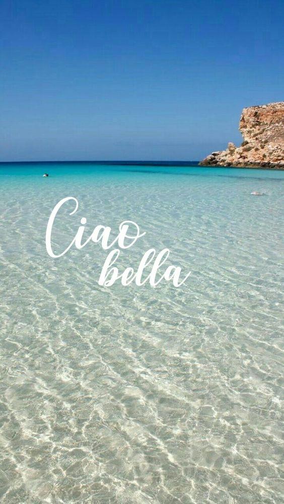 Tumblr Phone Background Quote Phonebackground Style Happy Selfmade Beach Italy Italia Sea Hello Phone Backgrounds Background Beach