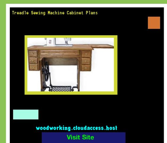 Treadle Sewing Machine Cabinet Plans 215046 - Woodworking Plans ...