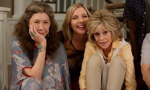 Lily Tomlin, June Diane Raphael and Jane Fonda in the Netflix series Grace and…